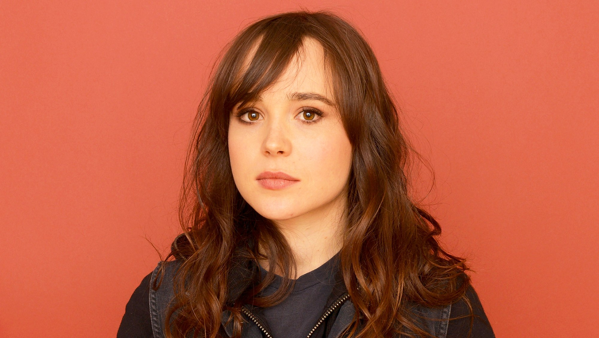 Ellen Page during the 2013 Sundance Film Festival at the Getty Images Portrait Studio at Village in Park City, Utah.